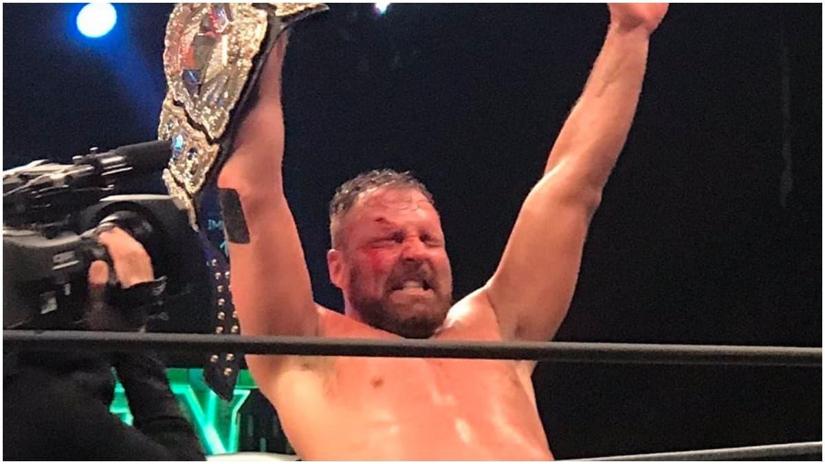 Jon Moxley wins AEW World Championship from Chris Jericho at AEW Revolution