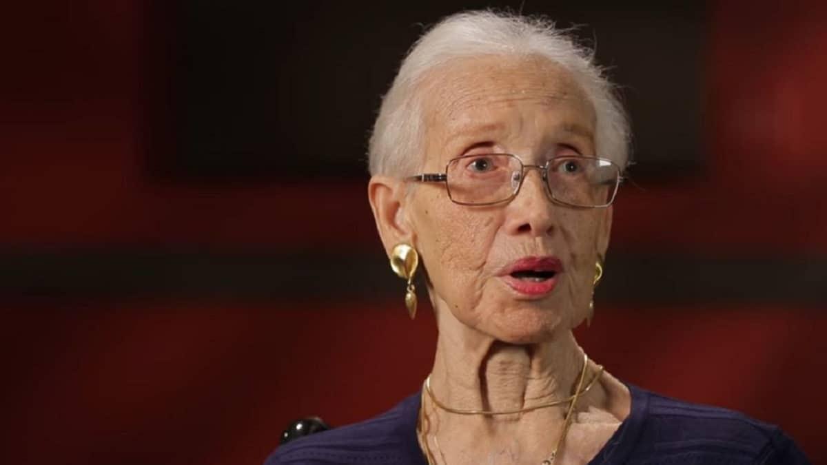 Katherine Johnson, former NASA Mathematician