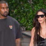 Kim Kardashian shows Instagram her skin-tight styles as Kanye West enjoys KFC.