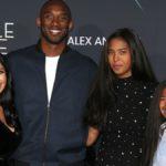 NBA Star Kobe Bryant and his family