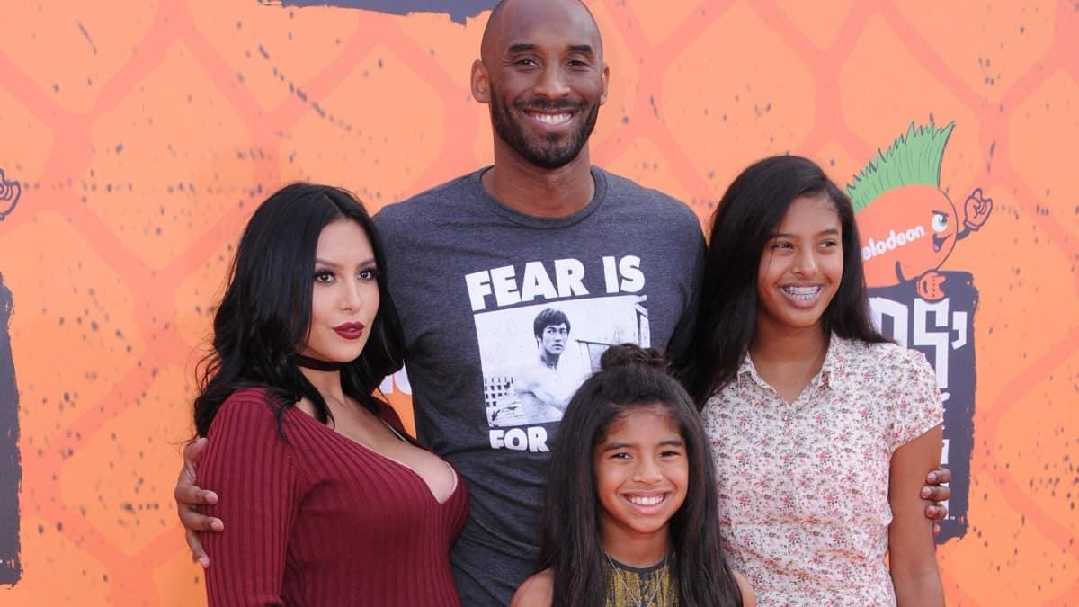 Kobe Bryant, Vanessa and daughters