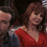 Ryan Carnes and Jacklyn Zeman as Lucas and Bobbie on General Hospital.