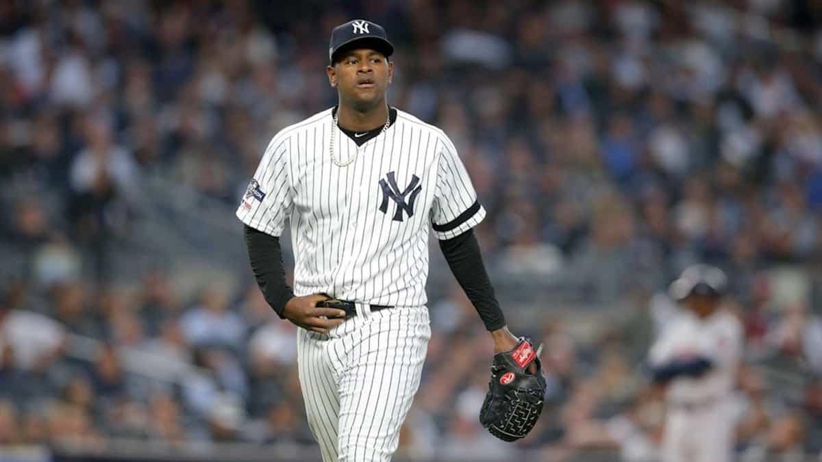 New York Yankees pitcher Luis Severino