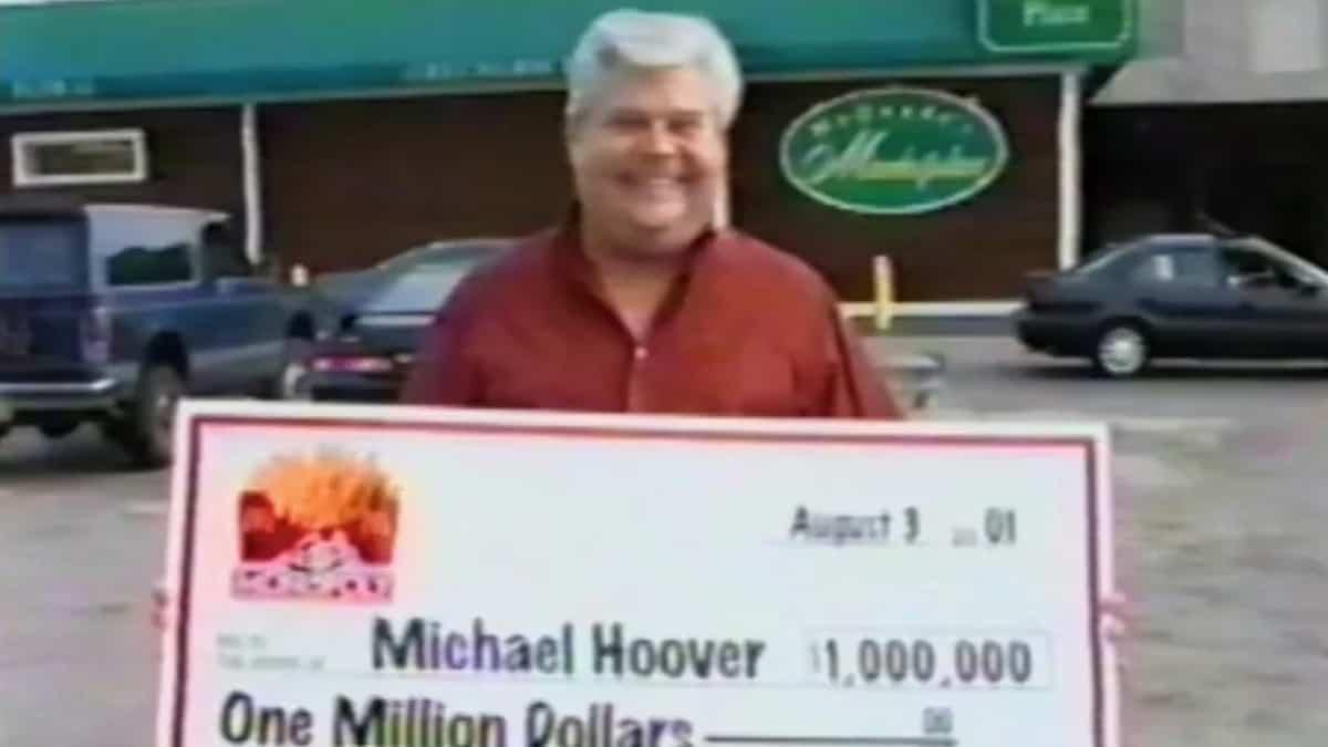 Michael Hoover, a McDonalds Monopoly 'winner