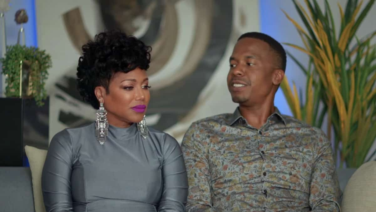 Michel'le and Stew on Marriage Boot Camp