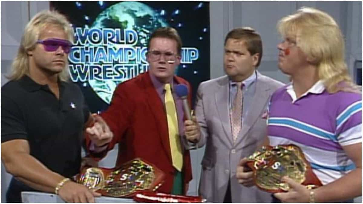 WWE Hall of Fame: Jim Ross explains why Midnight Express is not in HOF