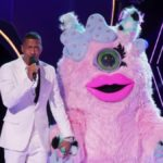 Nick Cannon with Miss Monster on The Masked Singer