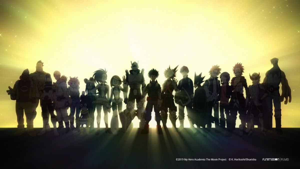 My Hero Academia Heroes Rising Class 1-A