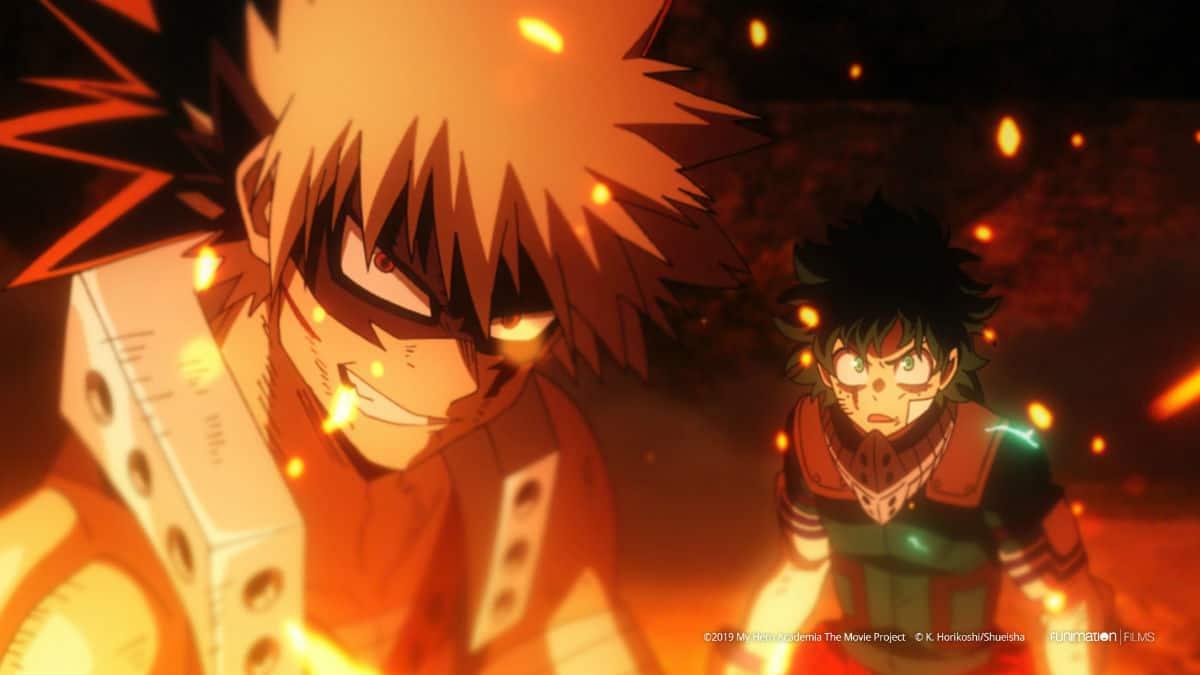 My Hero Academia: Heroes Rising anime poster art