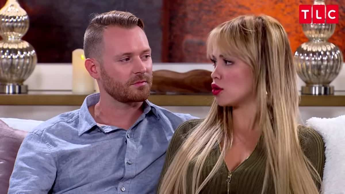 Paola and Russ at the 90 Day Fiance Tell All