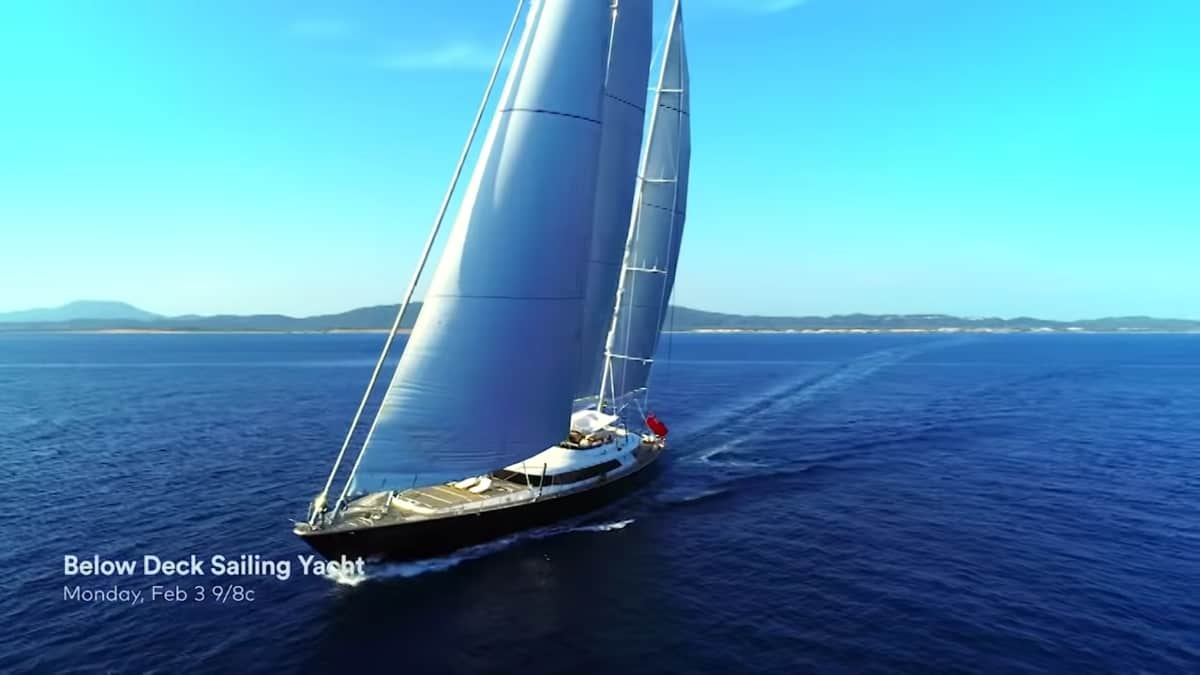 The Parsifal III on Below Deck Sailing Yacht