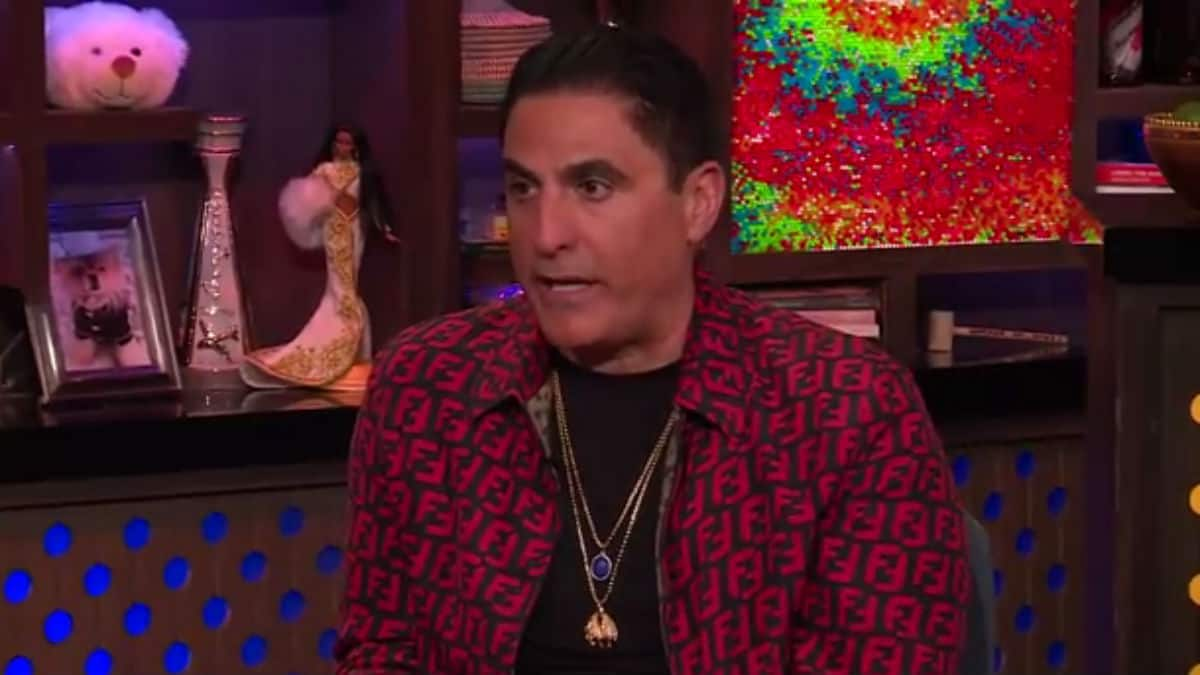 Reza Farahan on Watch What Happens Live.