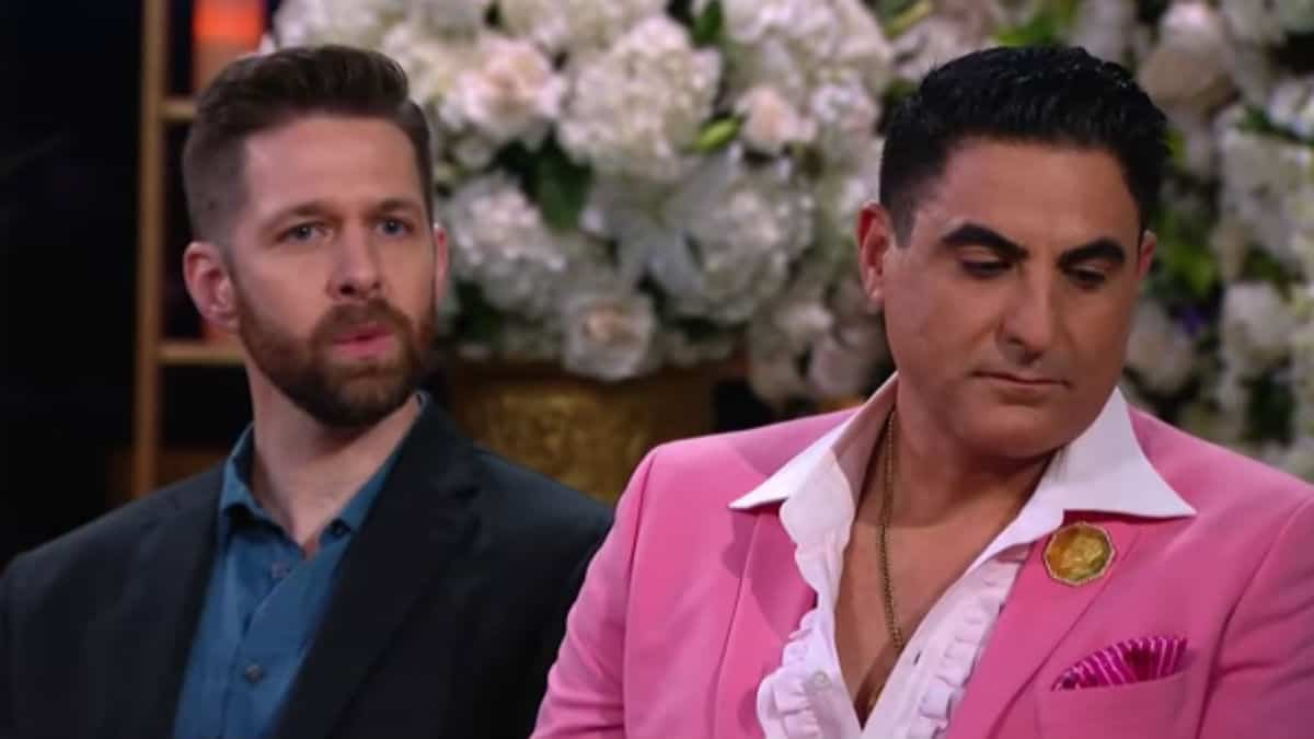 Reza Farahan and Adam Neely on Shahs of Sunset.
