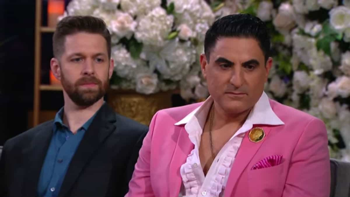 Reza Farahan and Adam Neely on Shahs of Sunset