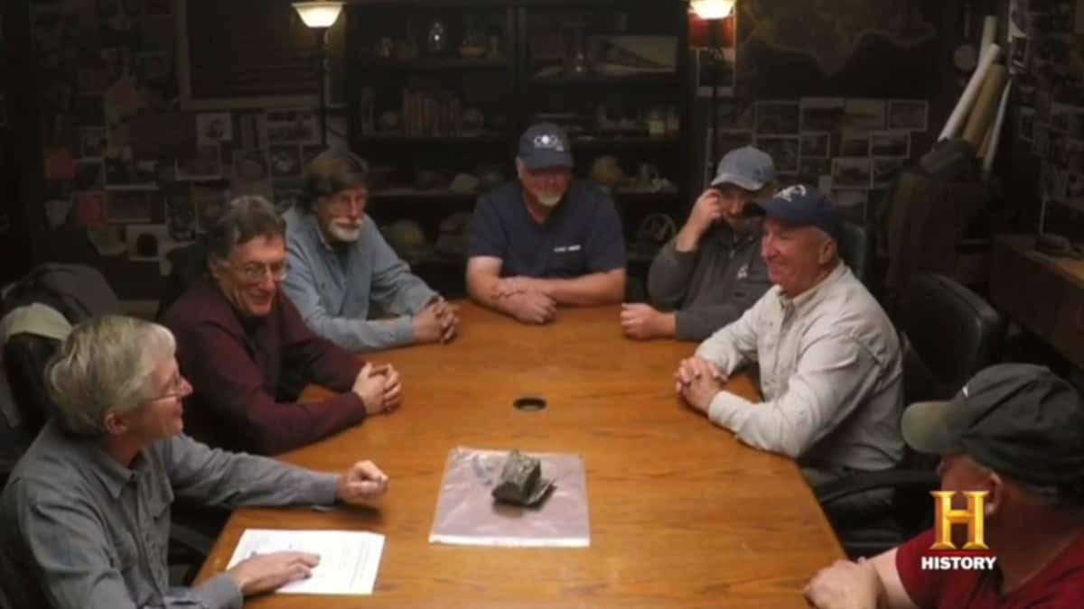 The Oak Island war room