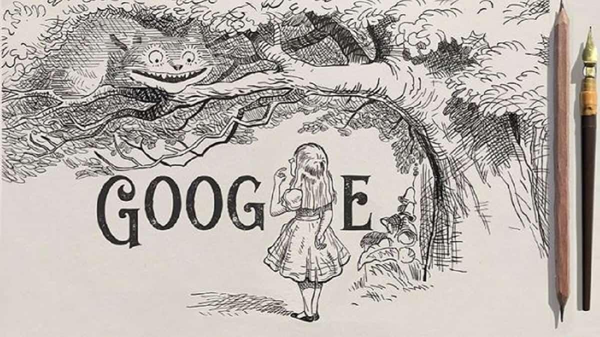 Google Doodle Sir John Tenniel