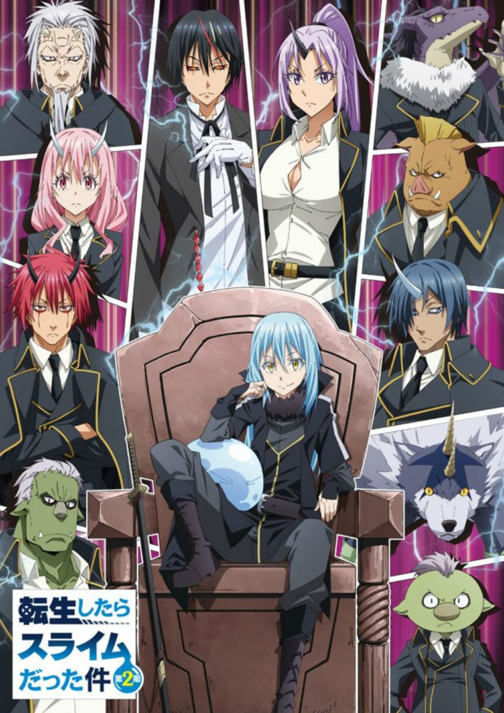 That Time I Got Reincarnated as a Slime Season 2 Anime Key Visual