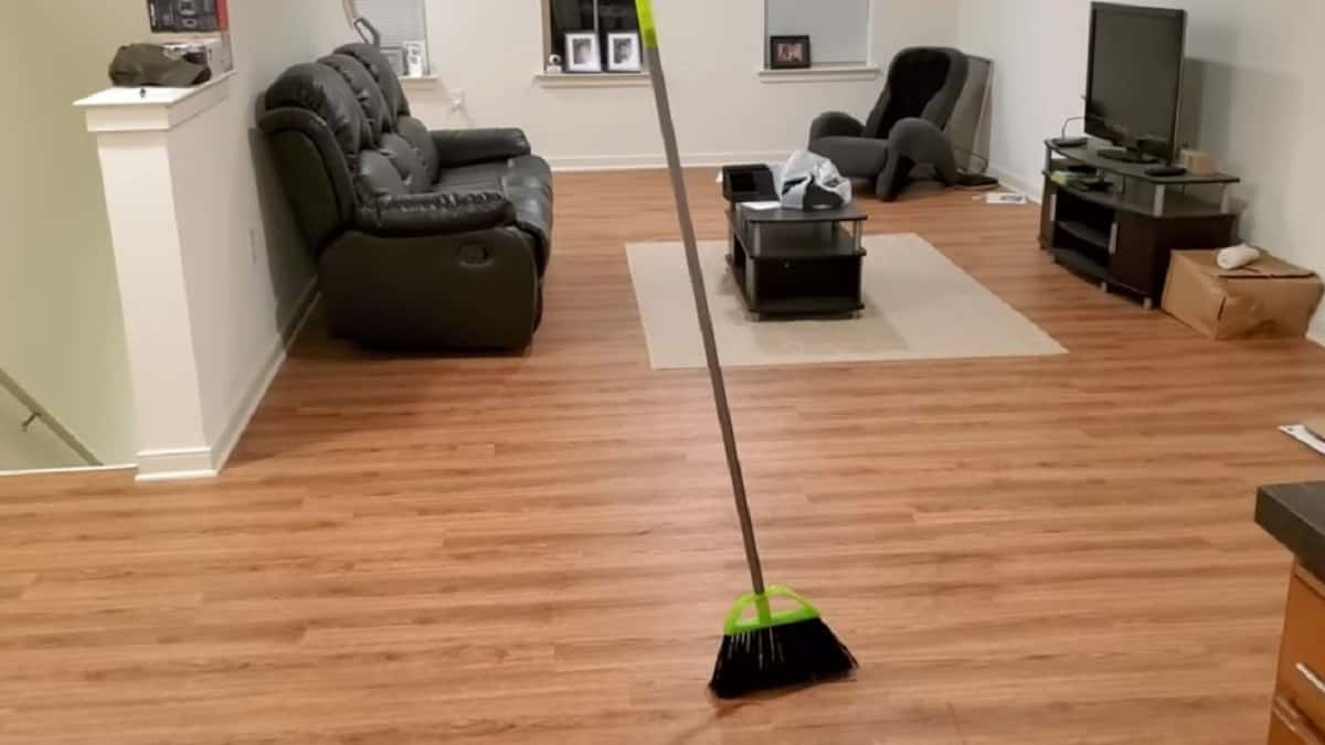 The viral Broom Challenge on social media
