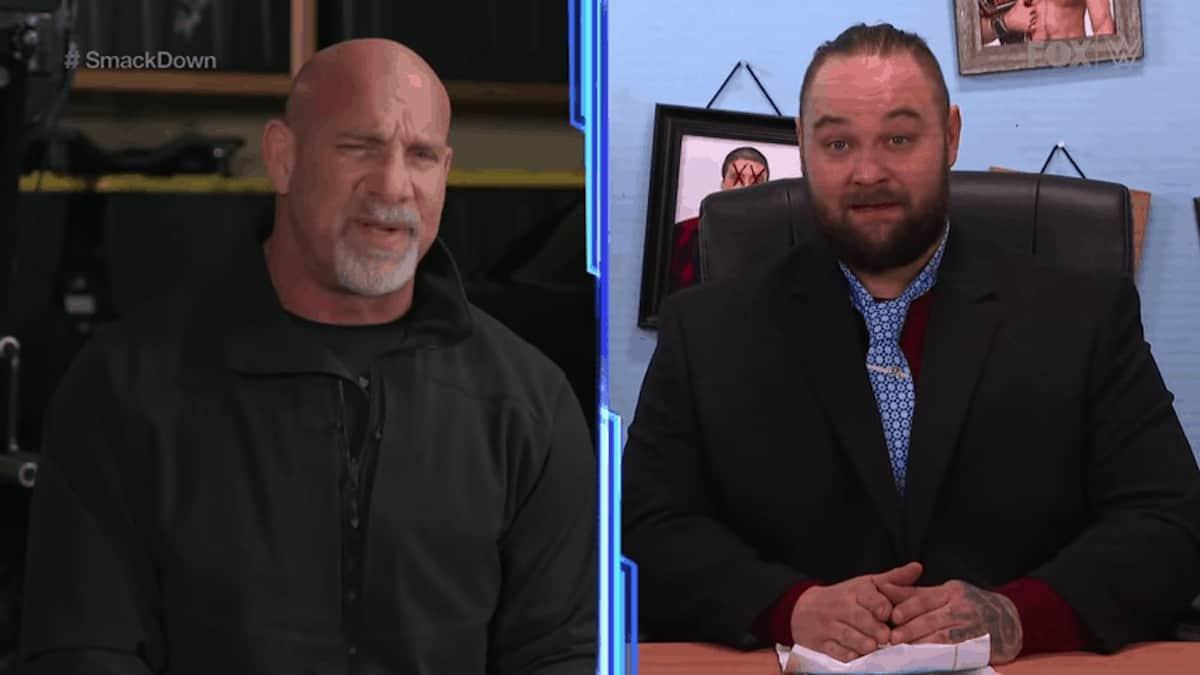 Goldberg says WWE Universal Champion The Fiend Bray Wyatt is next at Super Showdown in Saudi Arabia