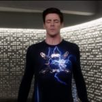 Barry Allen (Grant Gustin) wears the tachyon enhancer on The Flash. Pic credit: The CW