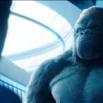Gorilla Grodd (David Sobolov) confronts Barry (Grant Gustin) on The Flash. Pic credit: The CW