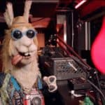 The Llama gives clues to his identity on The Masked Singer. Pic credit: FOX