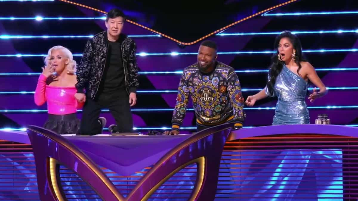 The Masked Singer panel