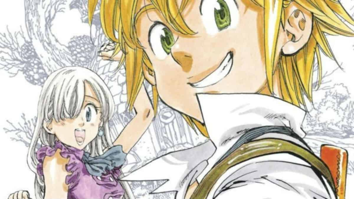 The Seven Deadly Sins manga artwork