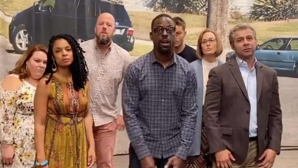 This Is Us cast Tik Tok dance video goes viral.