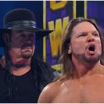 Undertaker shows up at WWE Super Showdown, wins match he wasn't involved in, and sets up WrestleMania feud