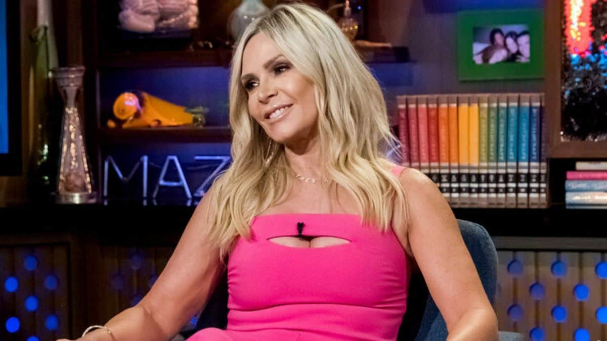 RHOC housewife Tamra Judge explains her distorted belly button