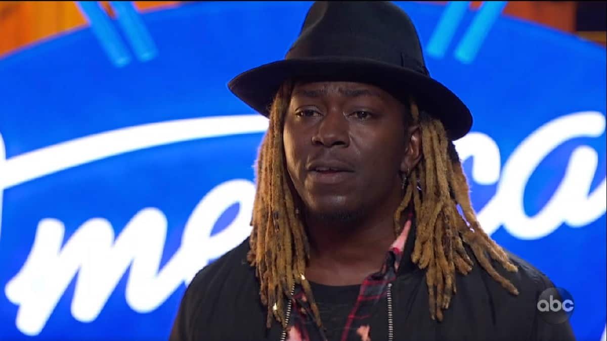 Jovin Webb sings for the judges on American Idol auditions.