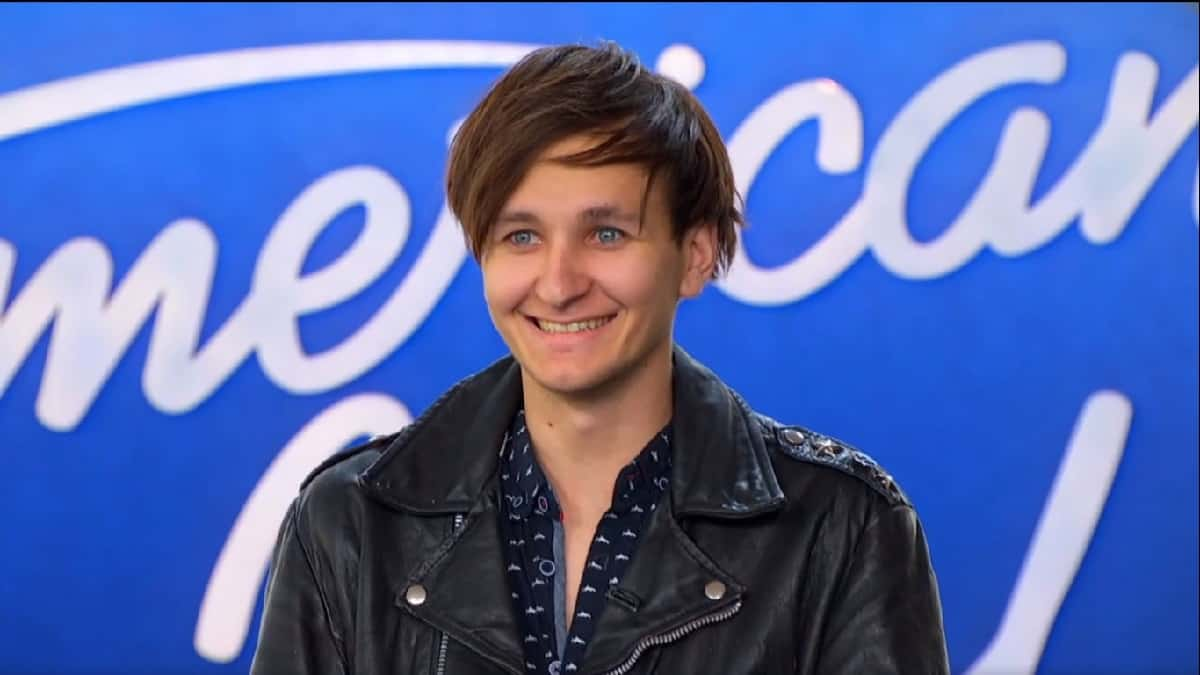 """American Idol contestant Hunter Gibson """"The Comeback"""" auditions."""