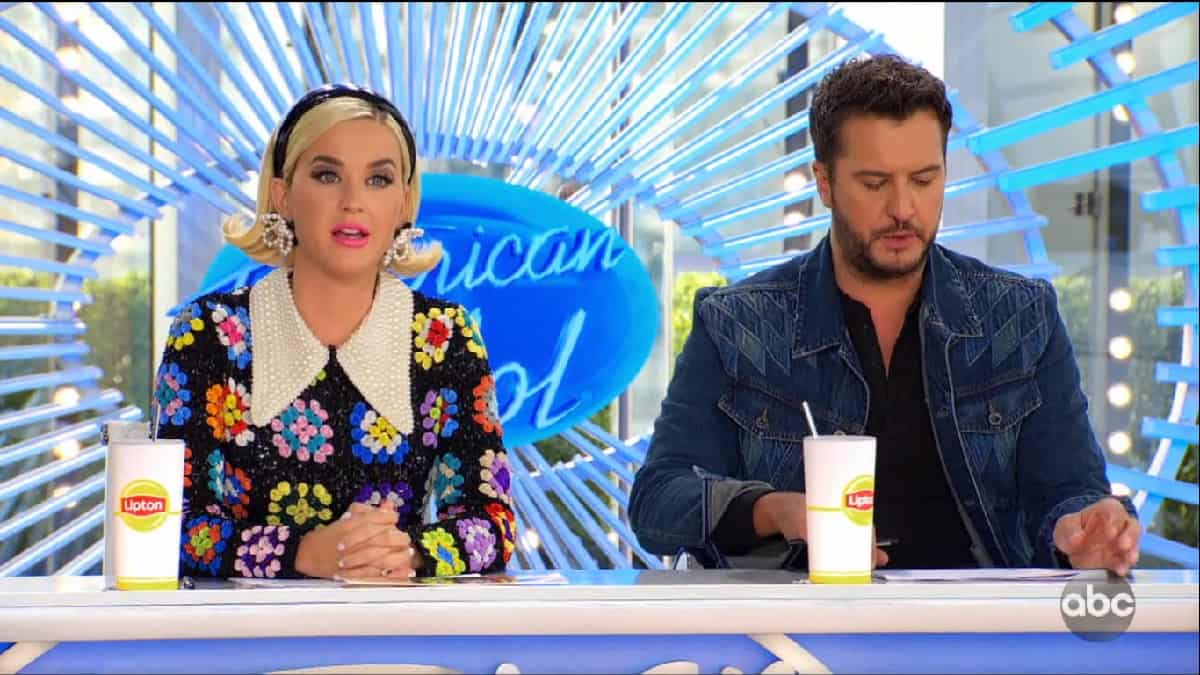 American Idol judges Katy Perry and Luke Bryan on the premiere