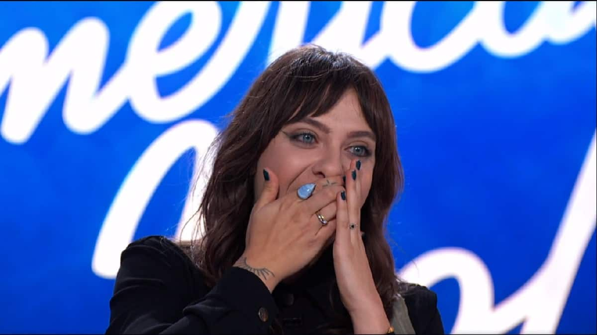 Contestant Saveria is told no on American Idol premiere night.