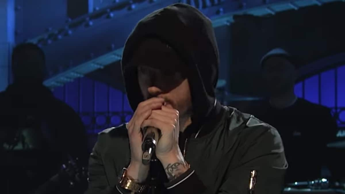eminem performance at oscars 2020 surprises fans and crowd