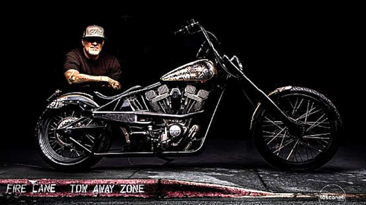 The first look at Jesse James of the new Monster Garage back on Discovery. Pic credit: Discovery.