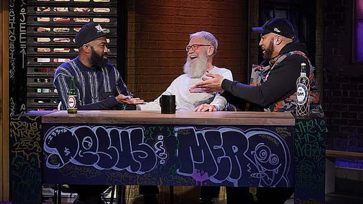 David Letterman on Desus & Mero