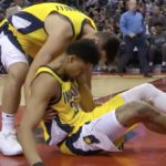 pacers jeremy lamb suffers injury against raptors