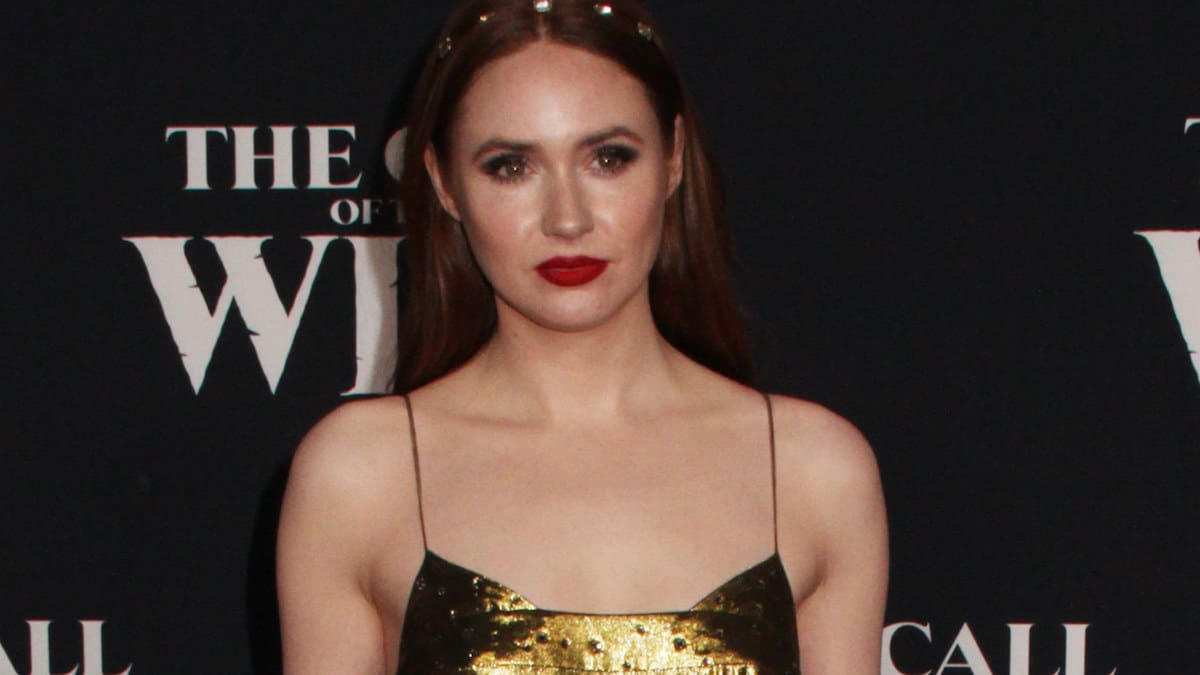 Actress Karen Gillan attends the premiere of her new film Call of the Wild in Los Angeles