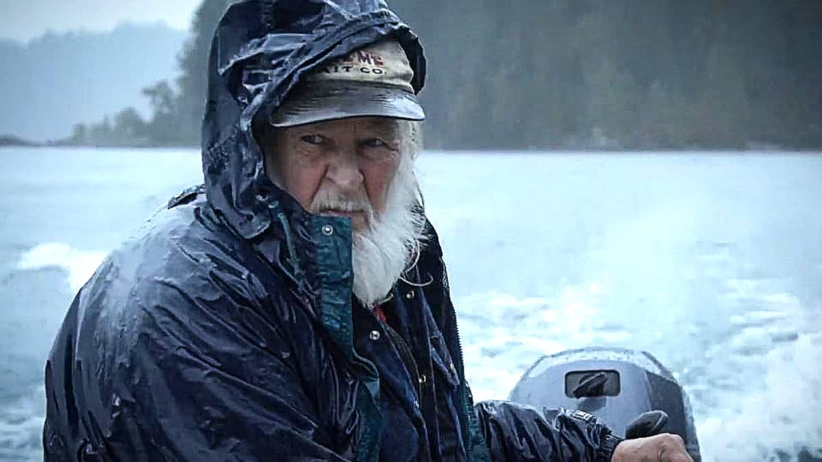 At 72, Gary Muehlberger shows no signs of quitting Port Paradise in Alaska. Pic credit: NGC