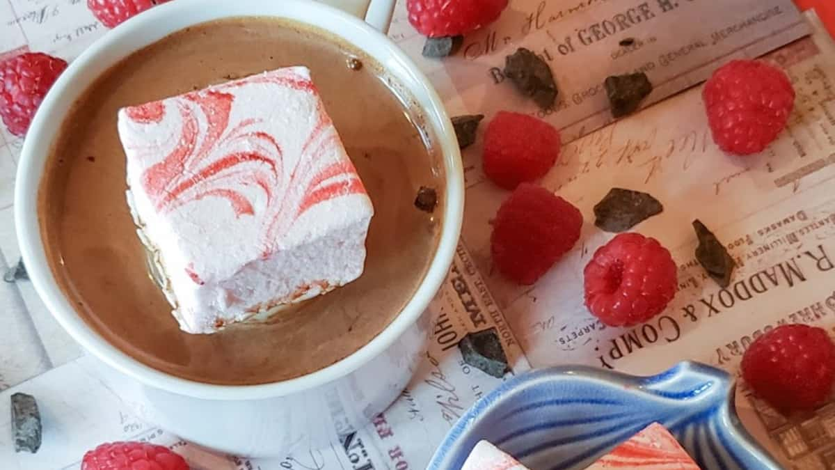 These homemade marshmallows make cocoa transcend the norm. Try them! Pic credit: Wicked Finch Farms