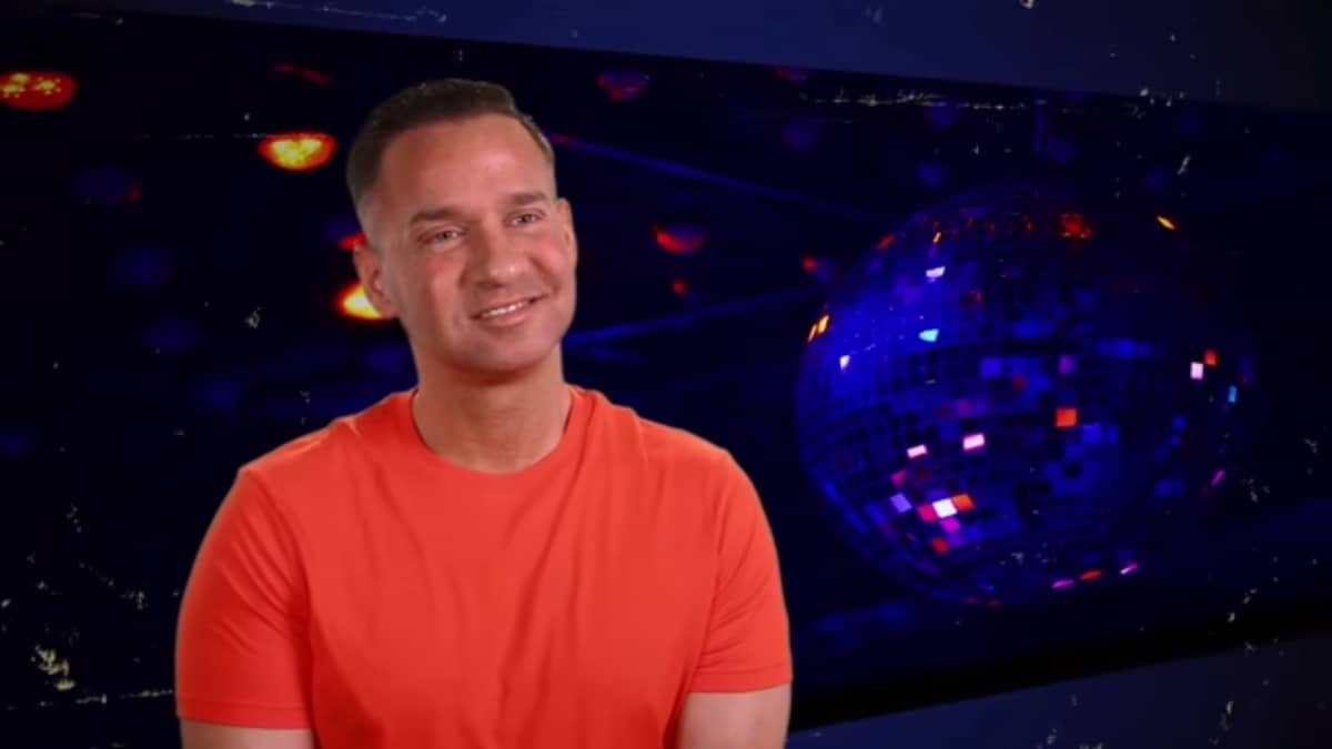 Mike Sorrentino smiles as he thinks of post-prison pizza