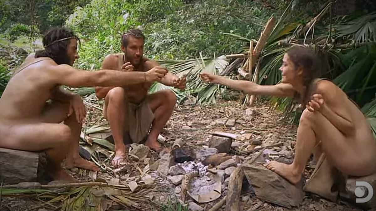 The threesome group has lots of interesting banter. Pic credit: Discovery.