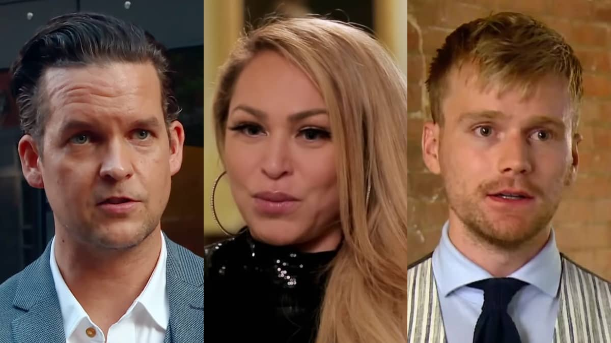 Tom Brooks, Darcey Silva and Jesse Meester from 90 Day Fiance