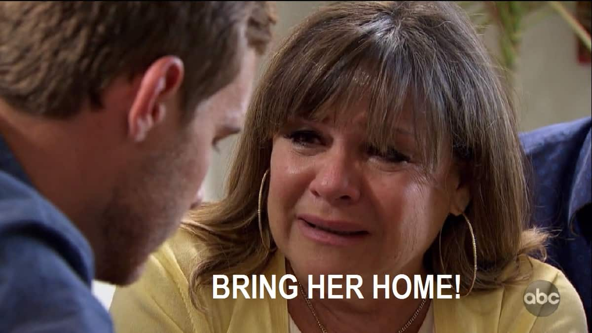 """bachelor peter's mom begs him to """"bring her home"""""""