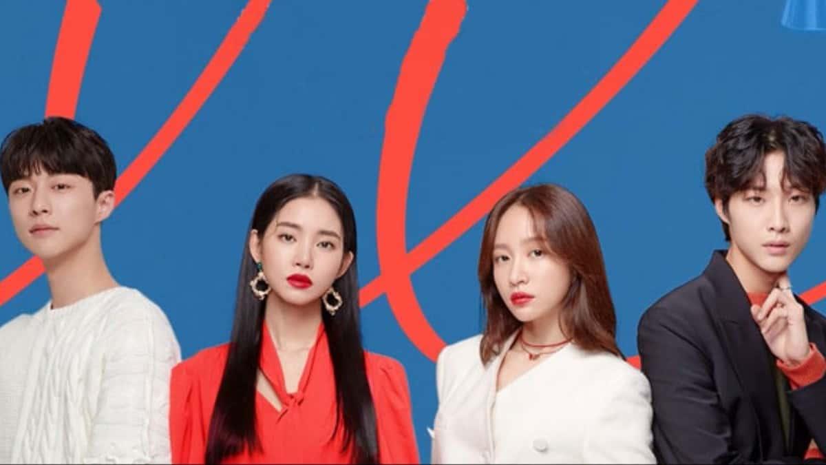 The main cast of Korean web drama, XX