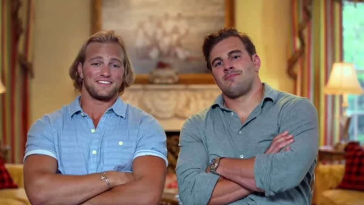 Gussie and Billy Busch Jr.
