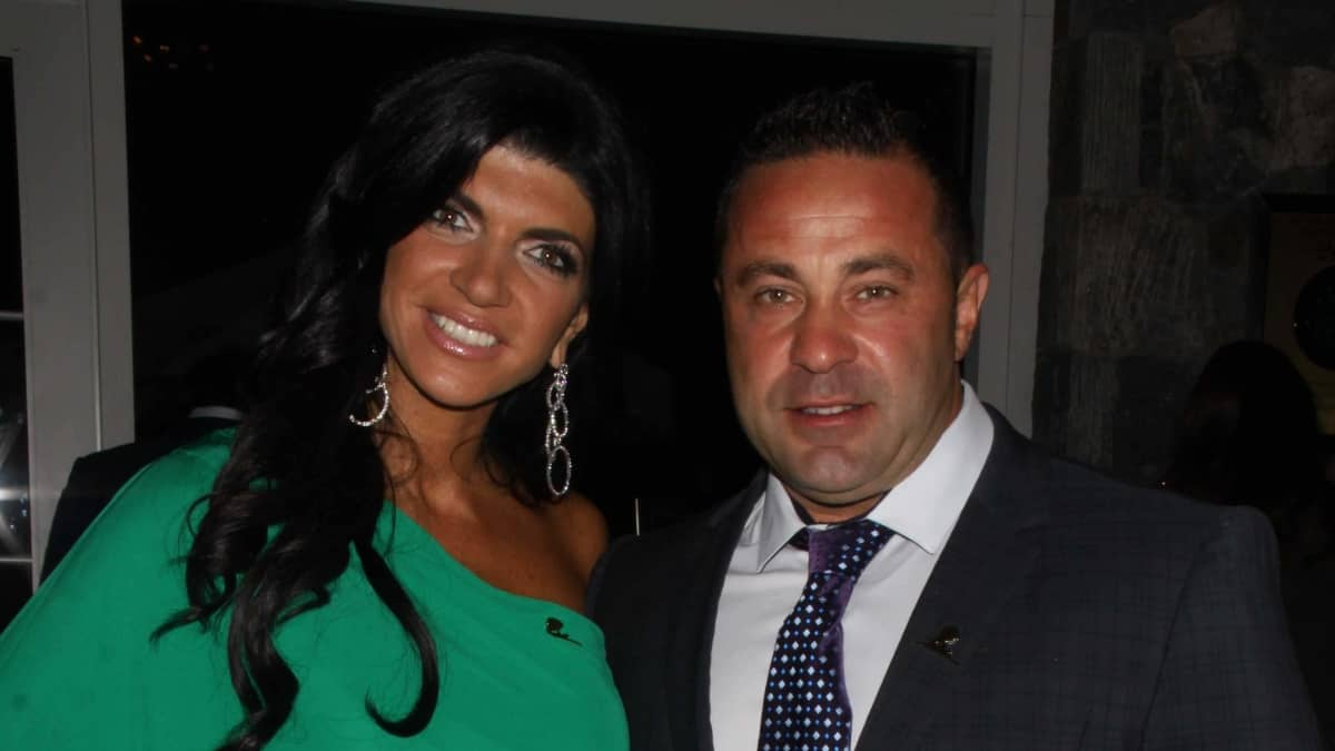 Joe Giudice with his estranged wife Teresa
