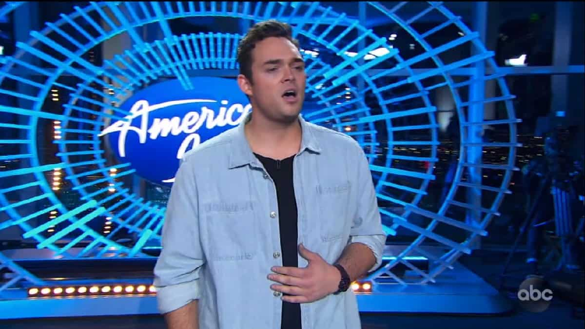 Idol contestant Devon Alexander auditions for Idol 2020